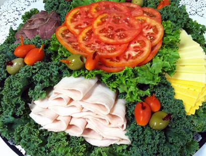 Slcied Deli Platter Catering