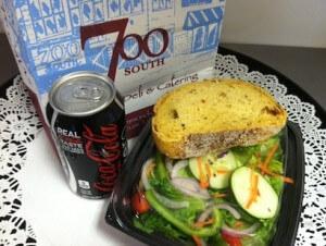 Leaf Salad Bag Lunch