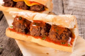 Meatball Sub Sandwich Special