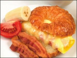 Egg Croissant Sandwich Catering