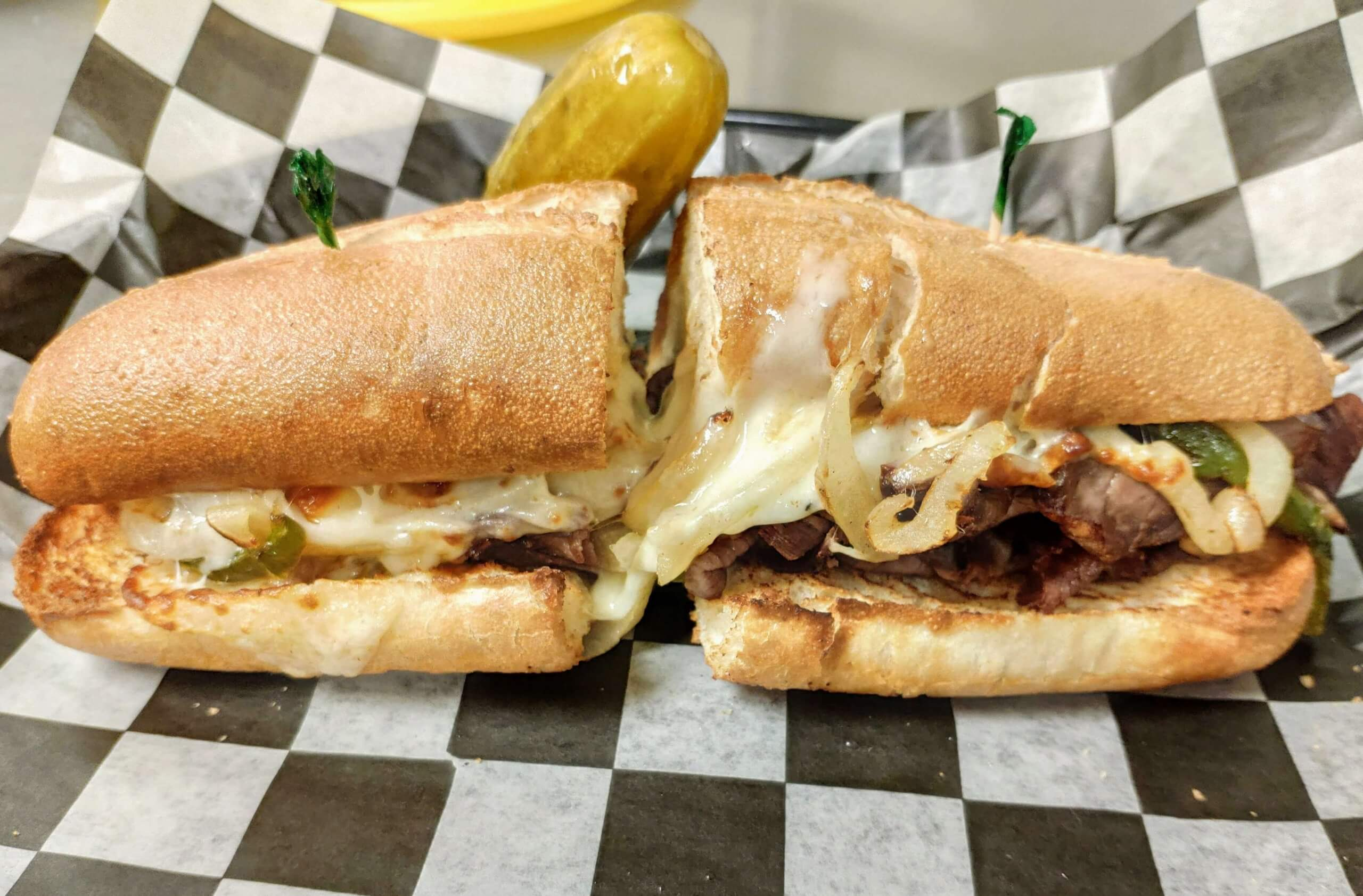 Deli Style Steak and Cheese