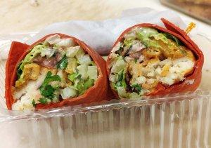 Fish Taco Wrap