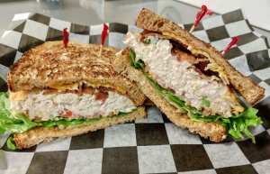 Tuna Salad BLT Sandwich